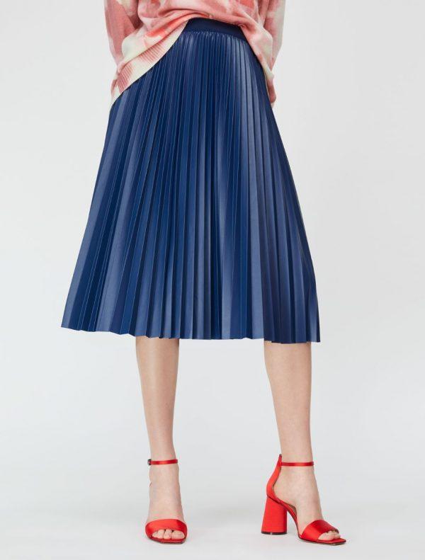 DARINA Skirt cornflower blue 1