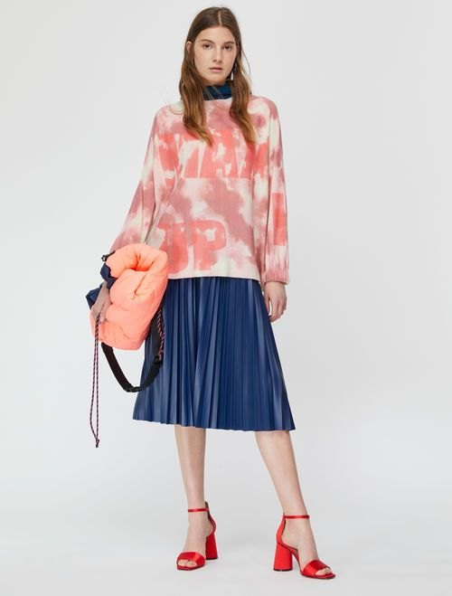 DARINA Skirt cornflower blue 4