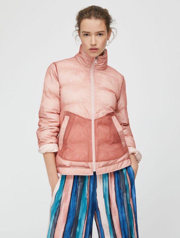 DEFILARE Quited jacket pink 1