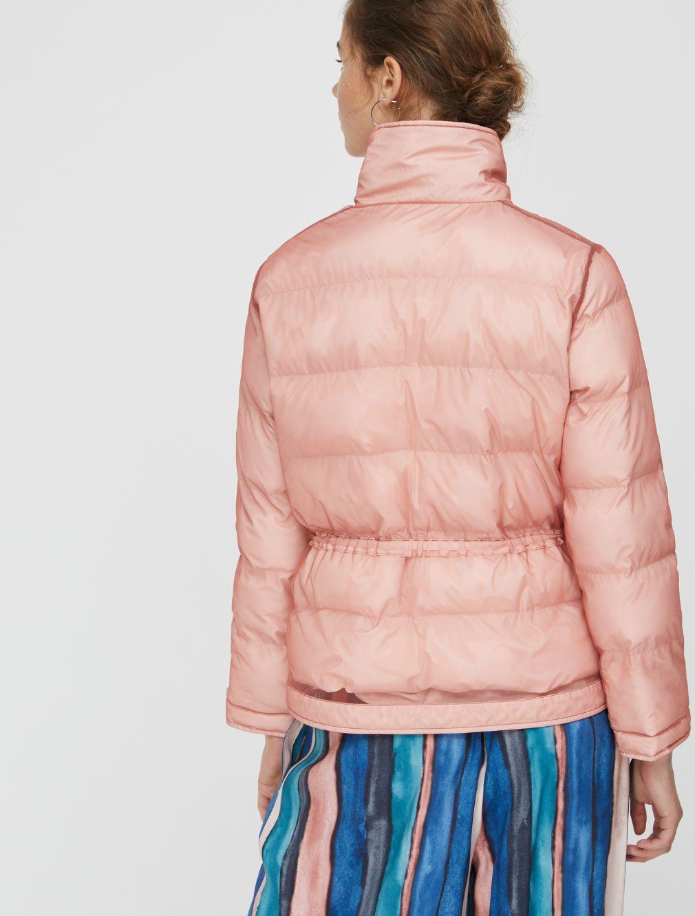DEFILARE Quited jacket pink 2