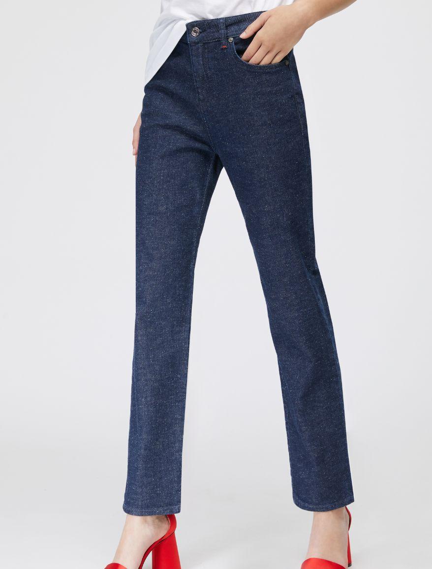 DENSITA Denim trouser midnight blue 1