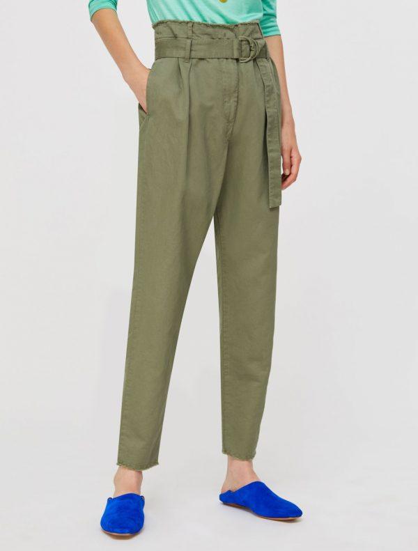 DIEGO Long trouser moss green 1