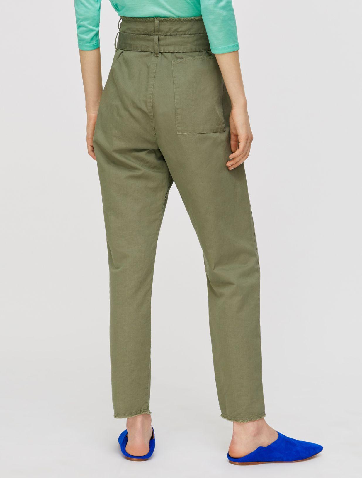 DIEGO Long trouser moss green 2