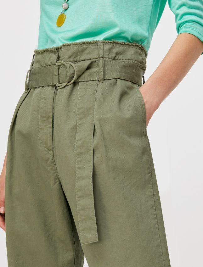 DIEGO Long trouser moss green 3