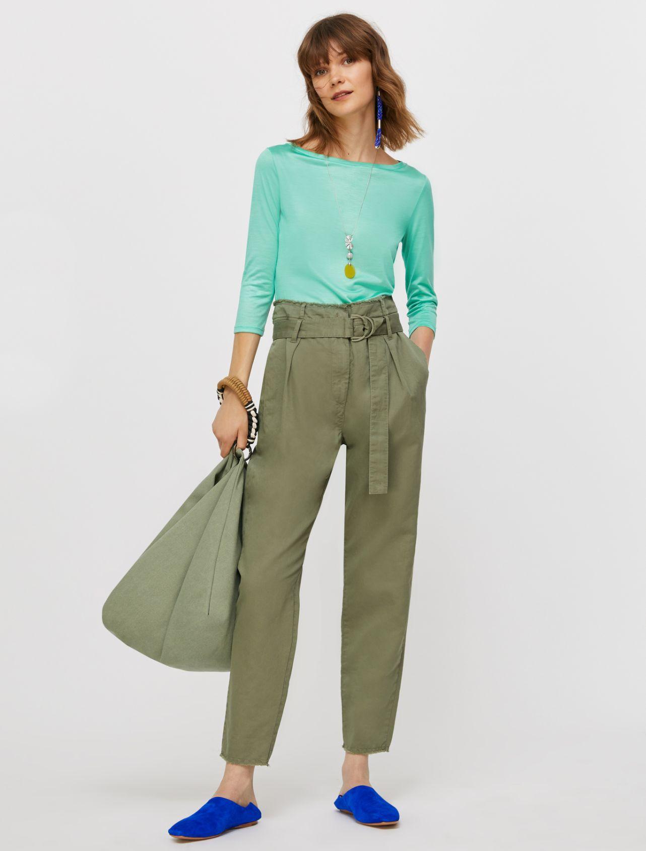 DIEGO Long trouser moss green 4