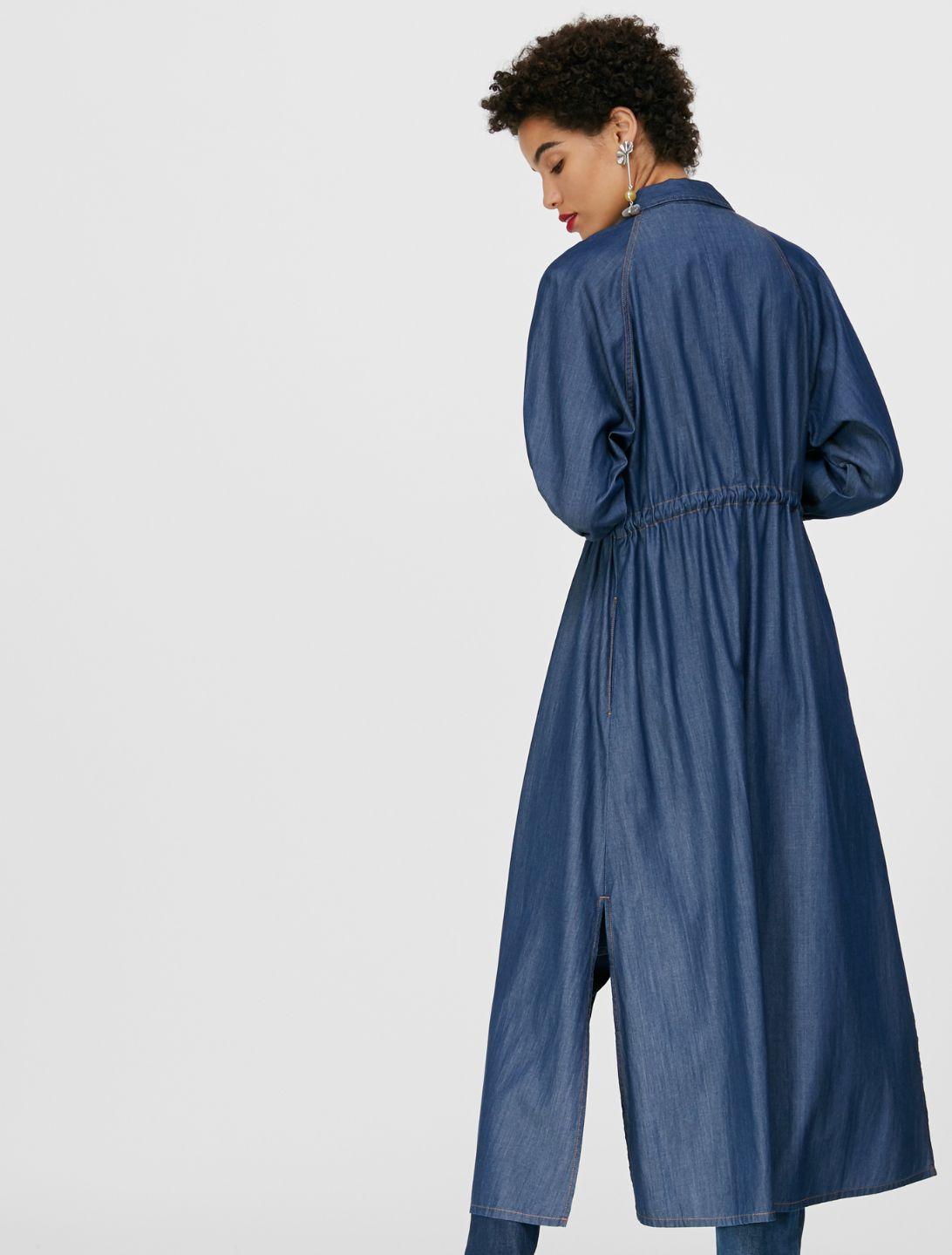 DIFESA Dress midnight blue 2