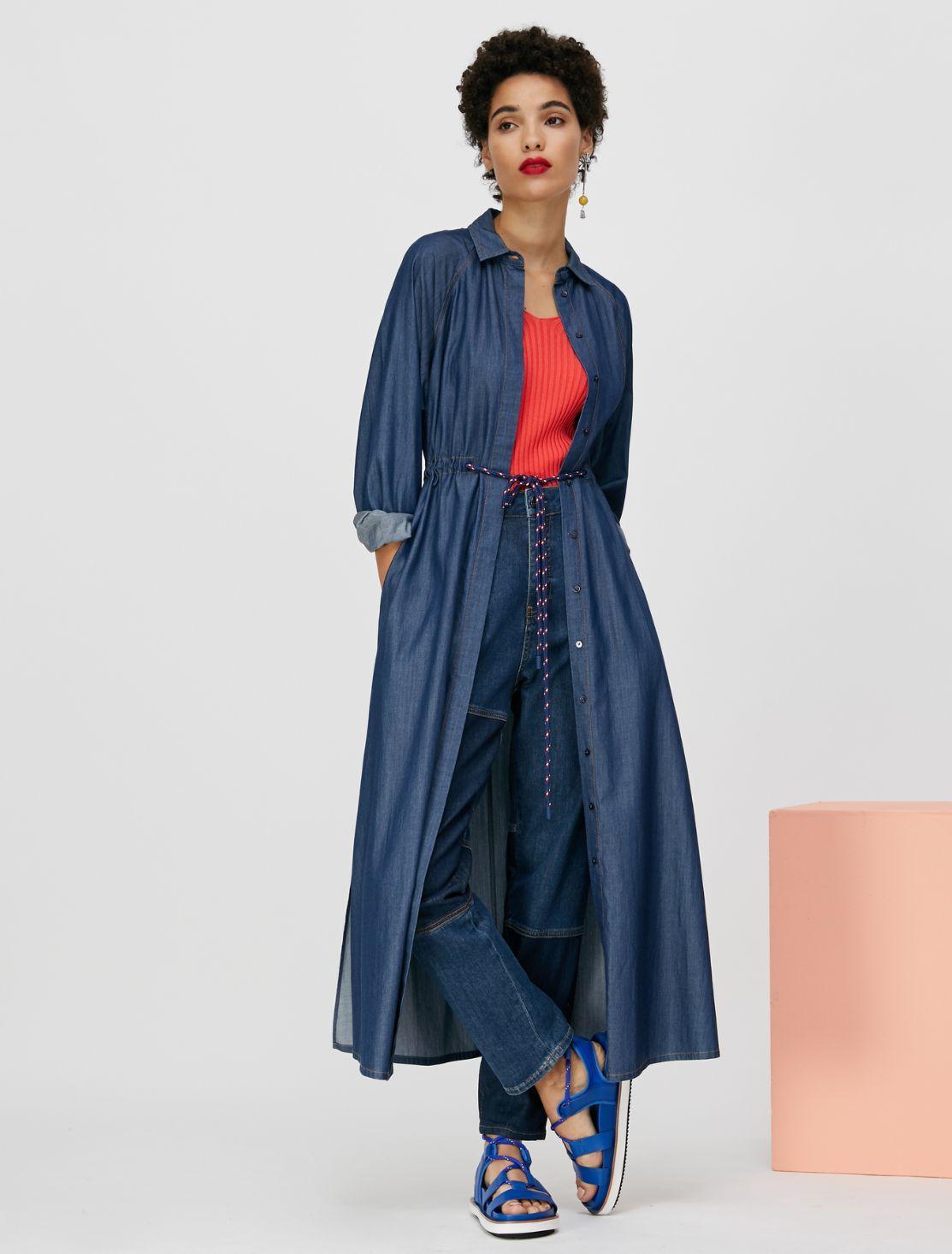 DIFESA Dress midnight blue 3