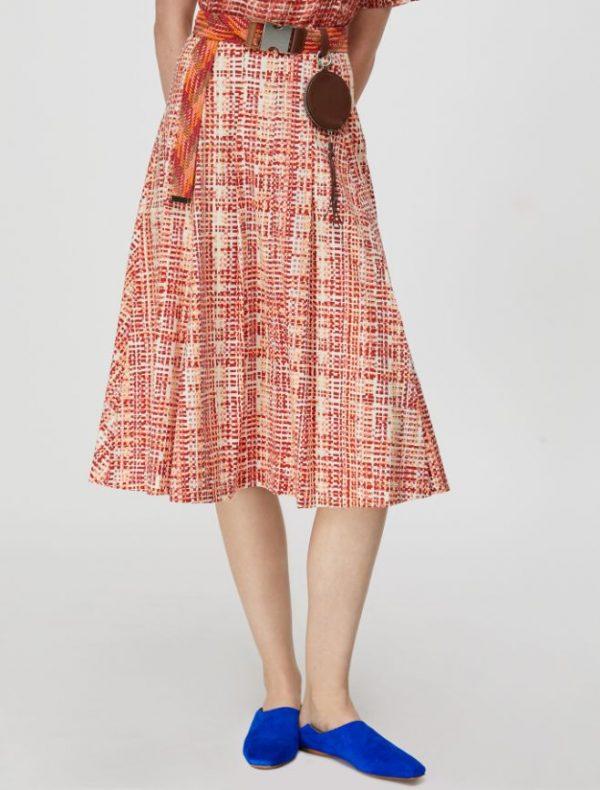 DINAMITE Skirt old rose pattern 1
