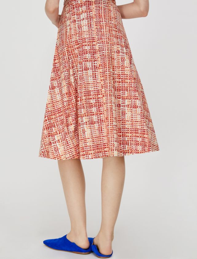DINAMITE Skirt old rose pattern 2