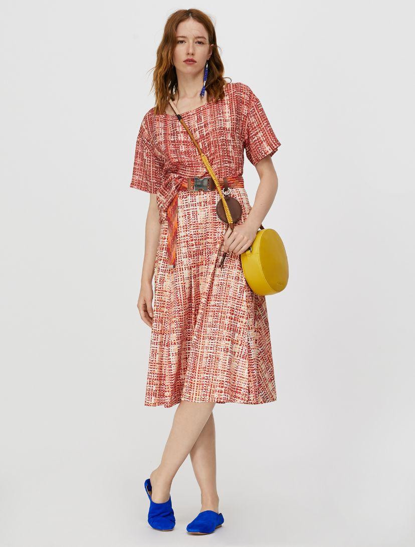 DINAMITE Skirt old rose pattern 4