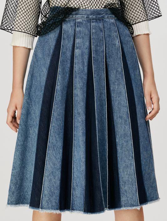 DIRECTOR Skirt light blue 2
