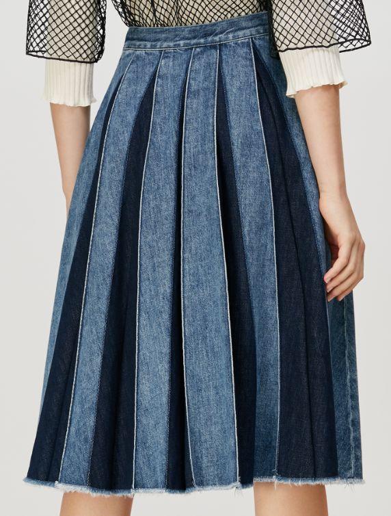DIRECTOR Skirt light blue 3
