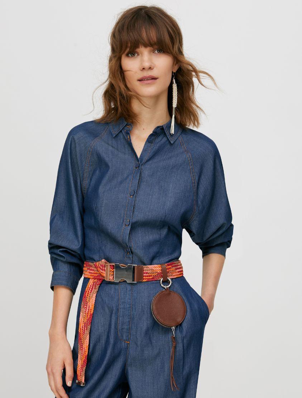 DIRIGERE Shirt midnight blue 1