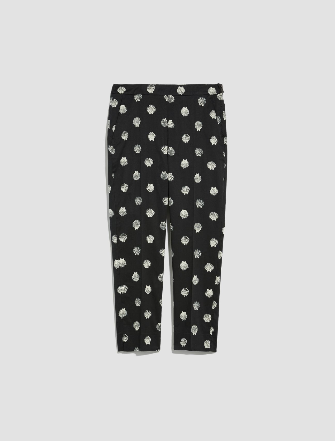 DISEGNO Long trouser black pattern 5