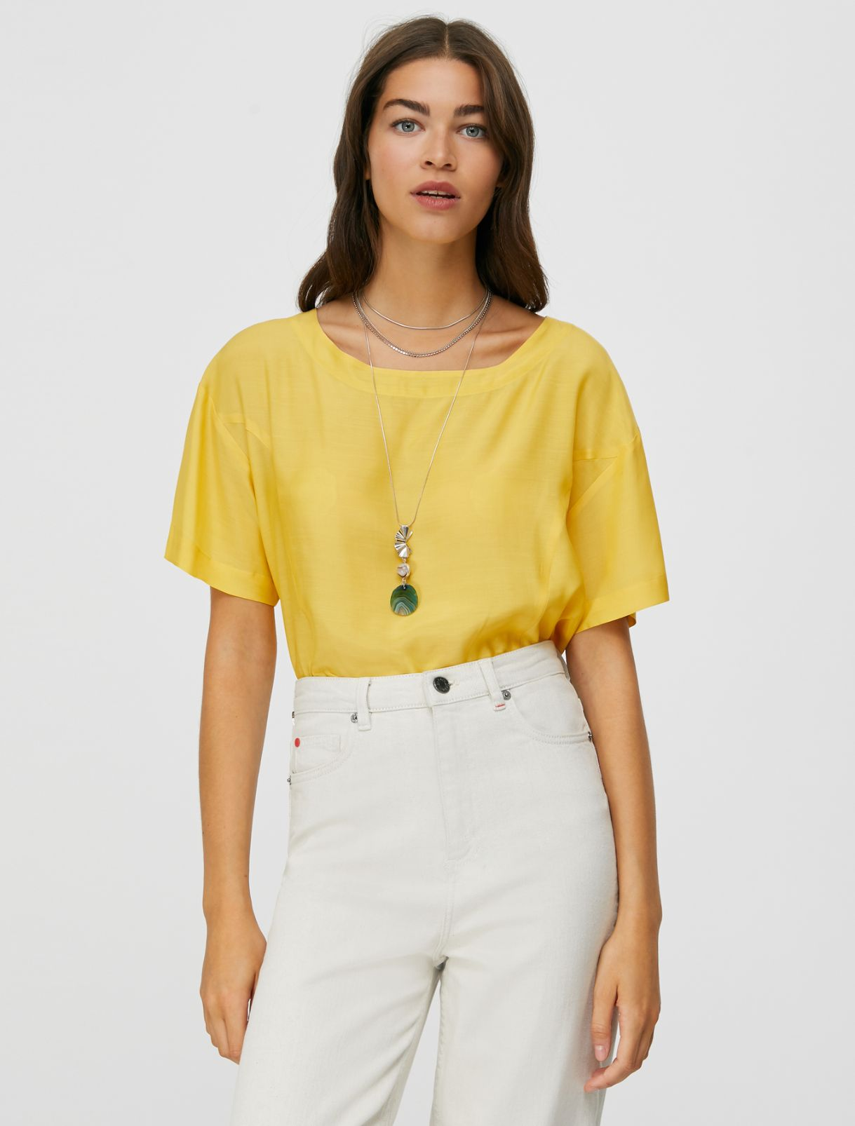 DISPENSA Shirt sunshine yellow 1