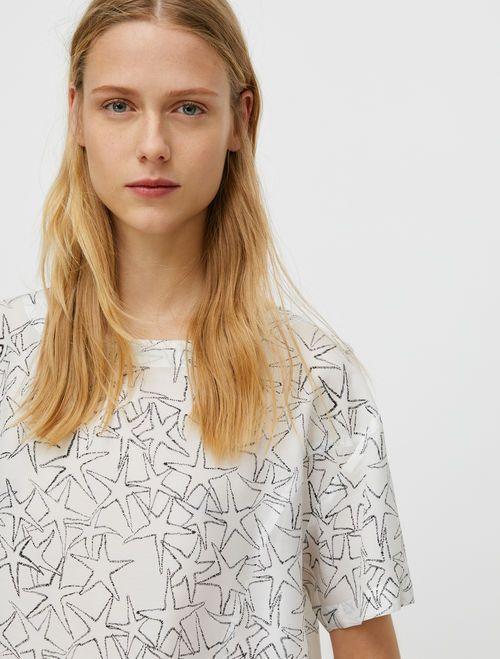 DISPENSA Shirt white pattern 3