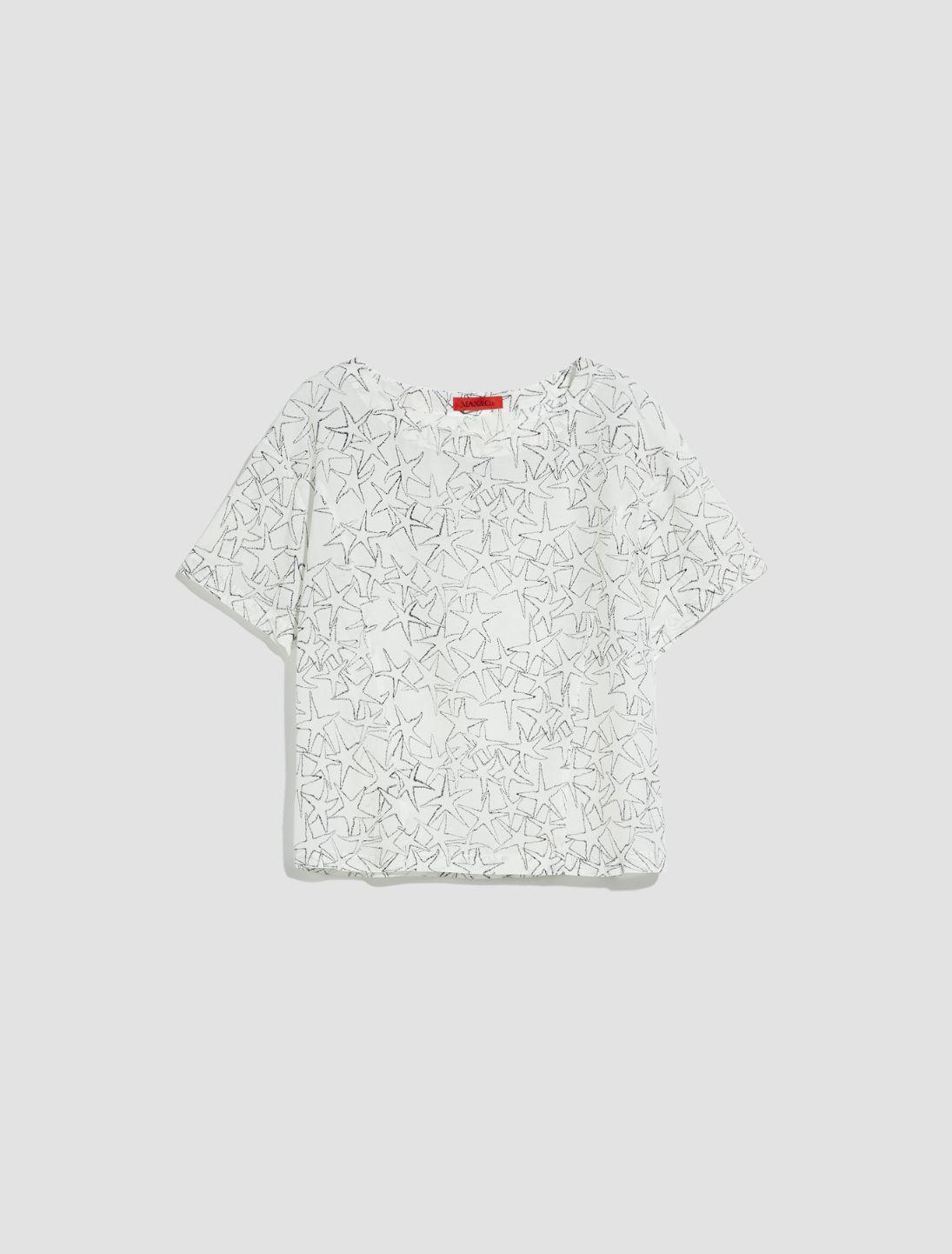 DISPENSA Shirt white pattern 5