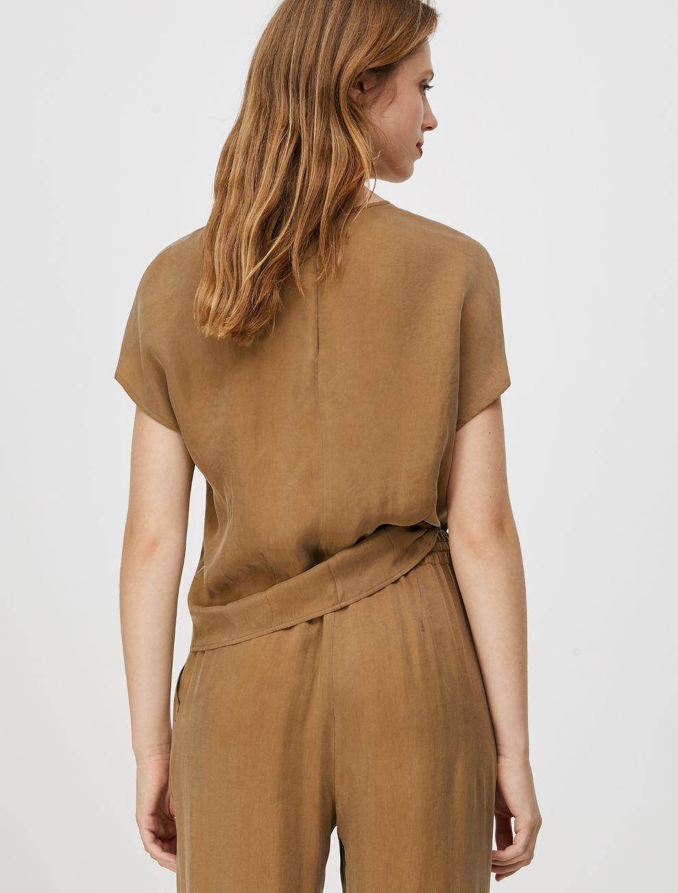 DISPUTA Shirt brown 2