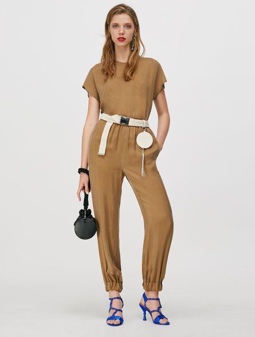 DITTA Long trouser brown 4