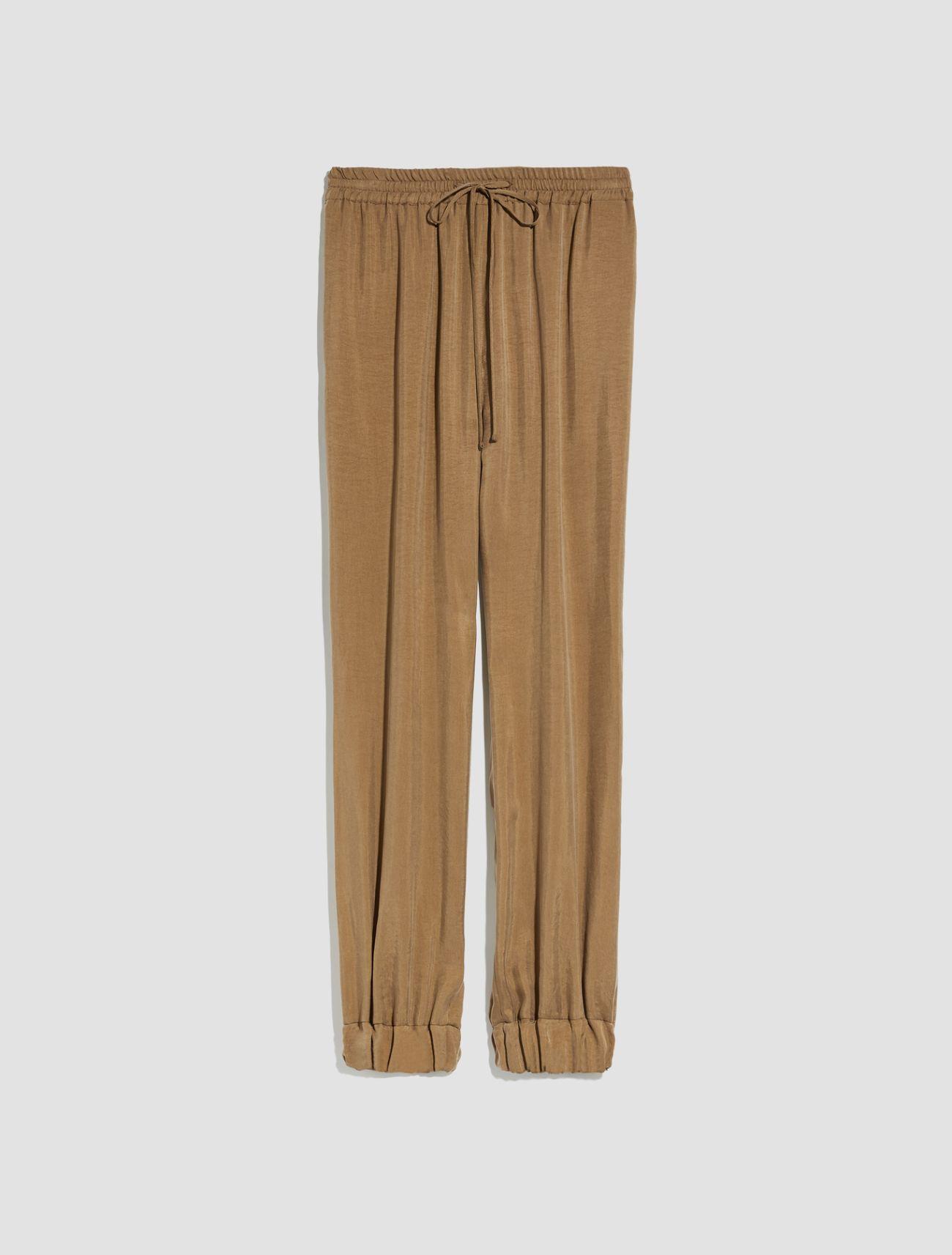 DITTA Long trouser brown 5