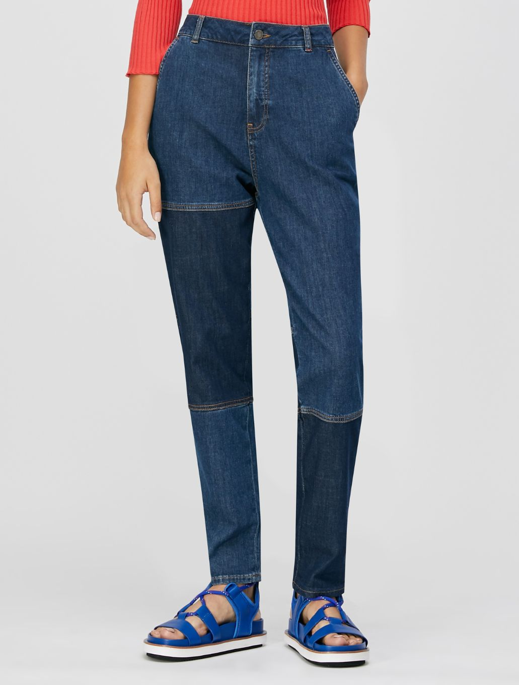 DOLLY Denim trouser midnight blue 1