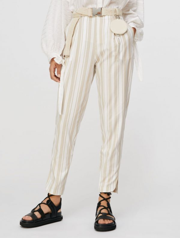 DOMENICO Long trouser ivory 1