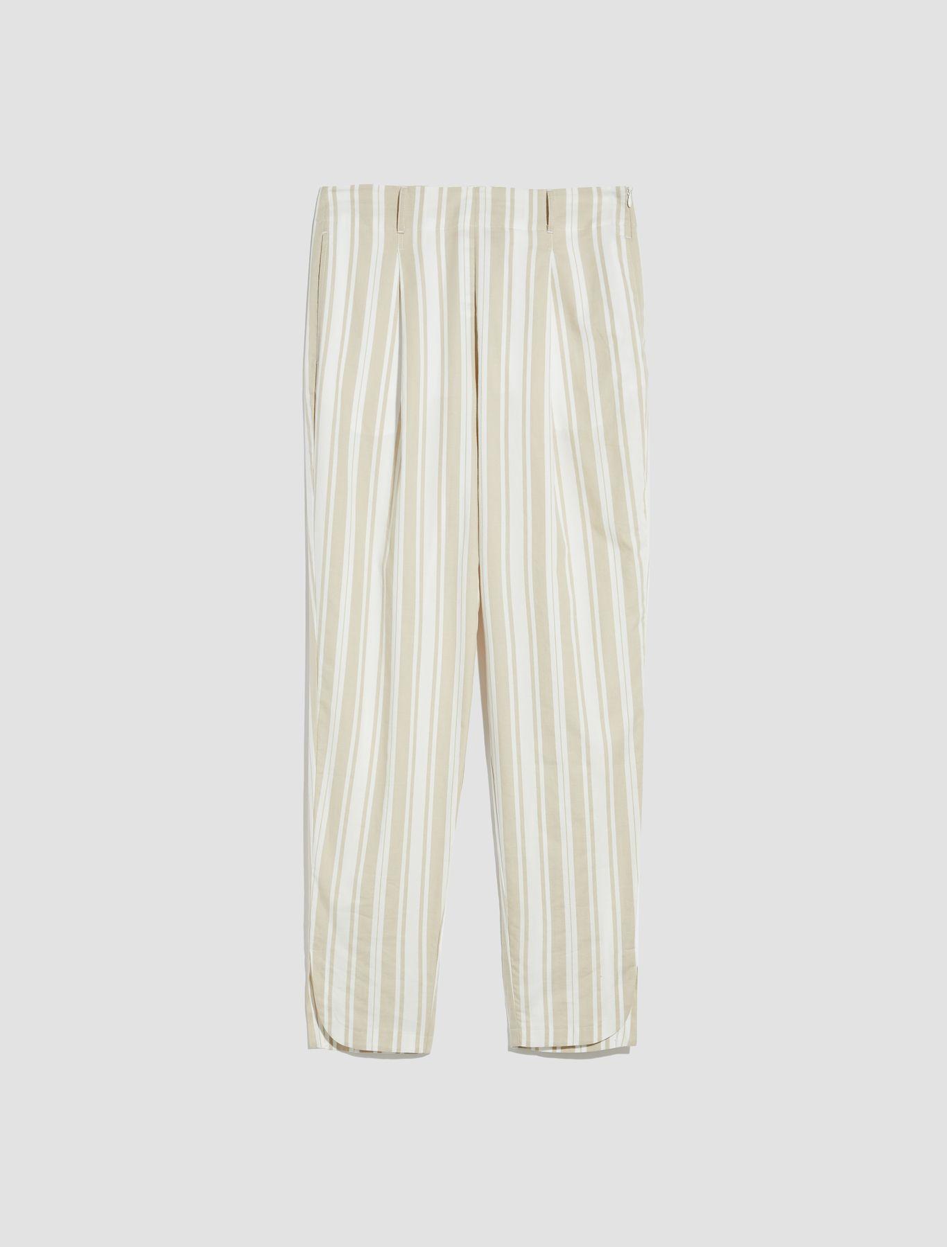 DOMENICO Long trouser ivory 5