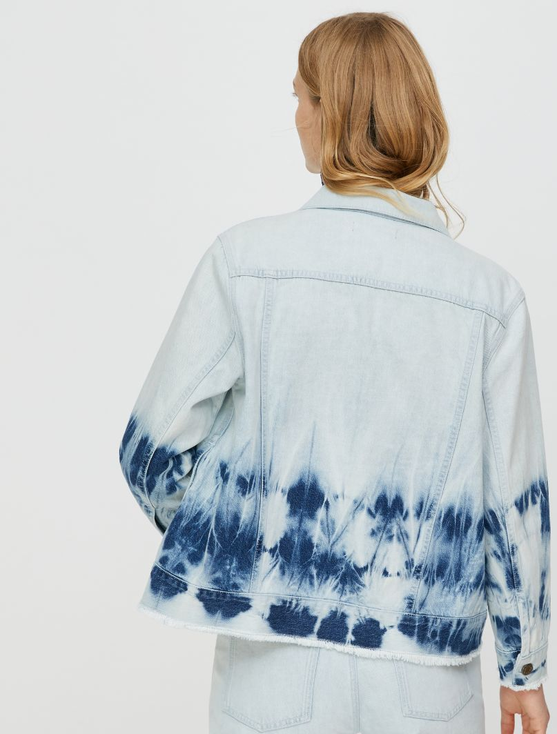 DONNOLA Jacket light blue pattern 3