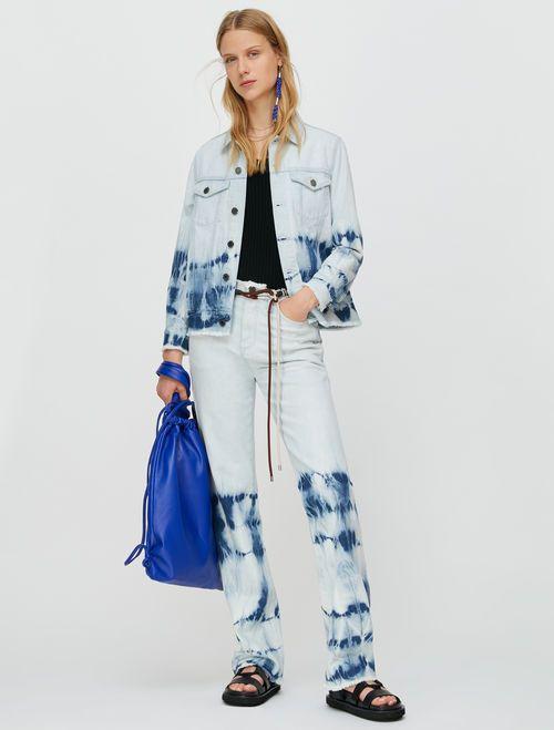 DONNOLA Jacket light blue pattern 5
