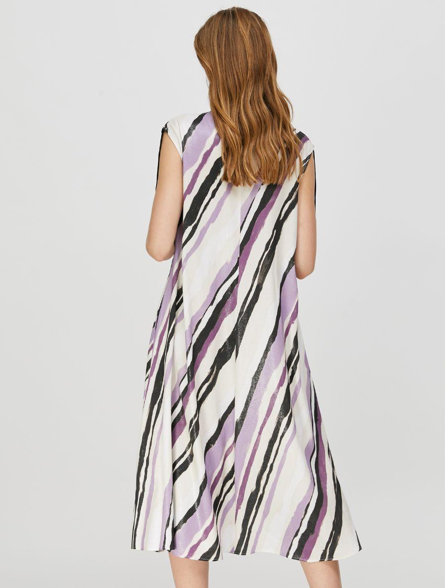 PATTINI Dress ivory pattern 2