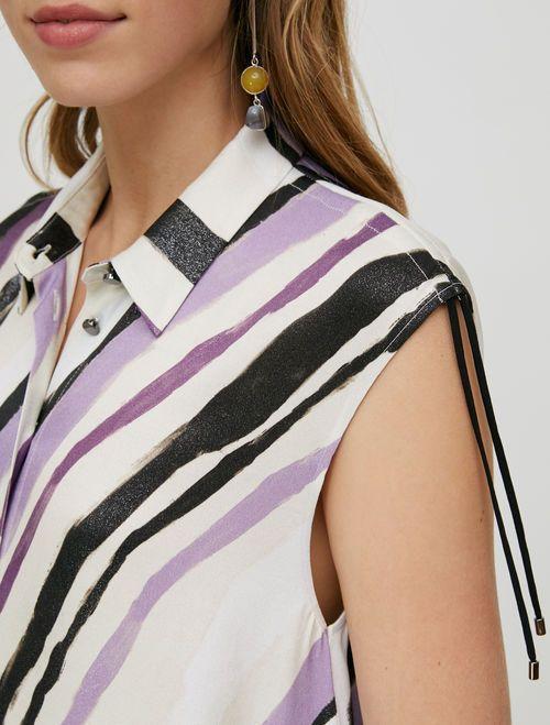 PATTINI Dress ivory pattern 3