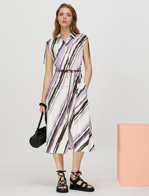 PATTINI Dress ivory pattern 4