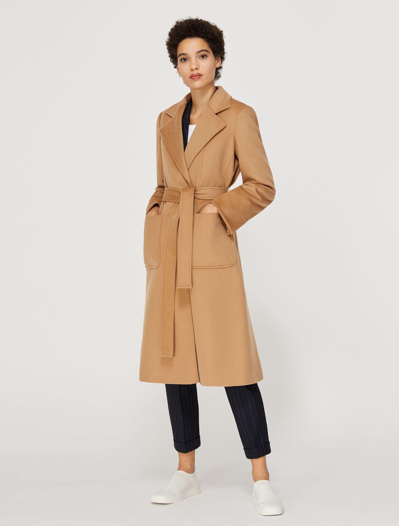 RUNAWAY Coat brown 1