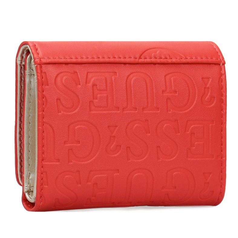 SWSG77 47430 RED KAYLYN SLG TRIFOLD 2